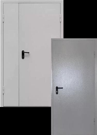 Двери для технических помещений. Выходы на лестничные марши