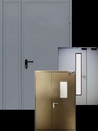 Двери приквартирных и лифтовых холлов